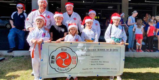 Ju-Jitsu at the Glenelg Pageant