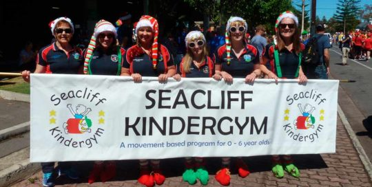 Seacliff KinderGym - Glenelg Pageant 2018