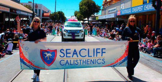 Seacliff Recreation Centre Seacliff calisthenics Glenelg Pageant
