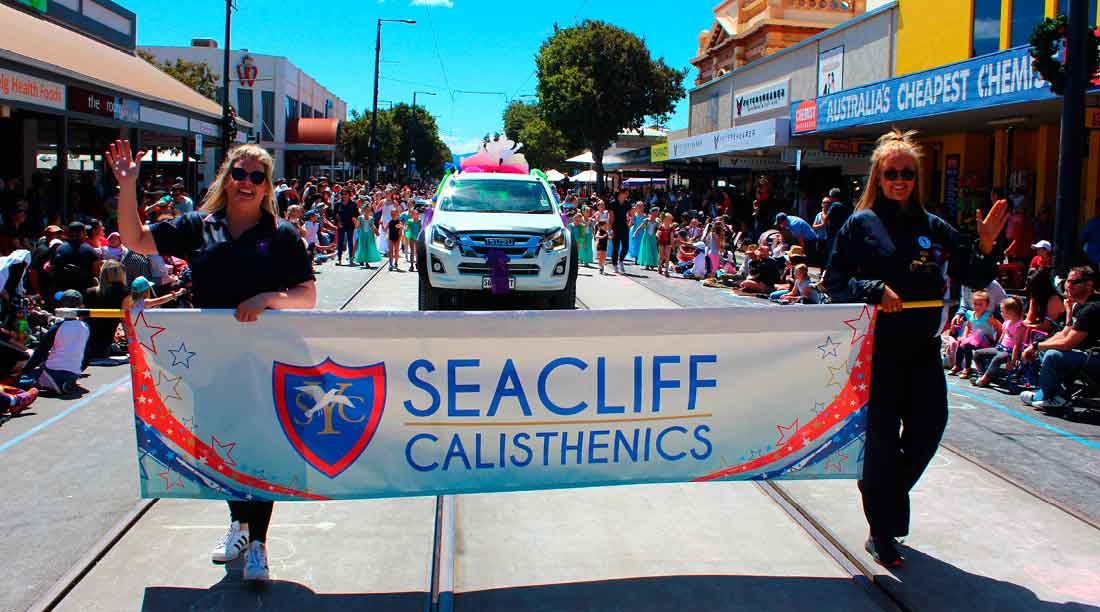 Seacliff Recreation Centre Seacliff calisthenics Glenelg Pageant