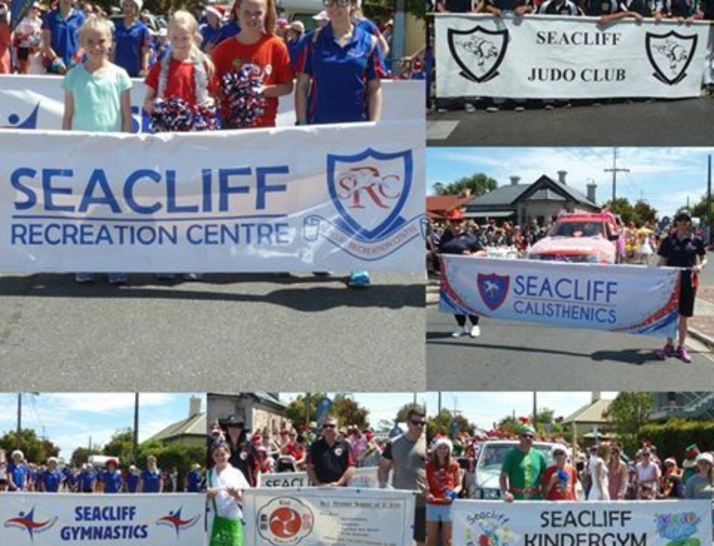 Seacliff Recreation at 2016 Glenelg Christmas Pageant!