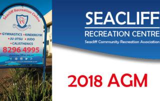 Seacliff Recreation Centre 2018 AGM