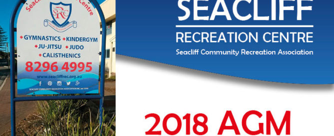 Seacliff Recreation Centre 2018 AGM