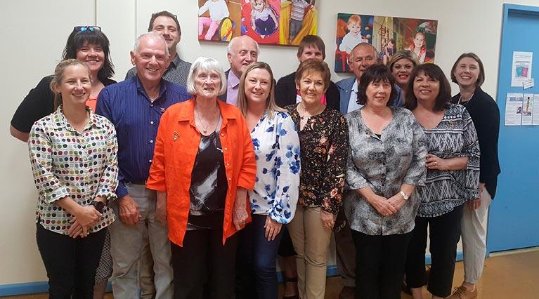 Seacliff Recreation Centre 2018 AGM life members