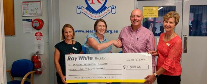 Seacliff Recreation Centre - community grant