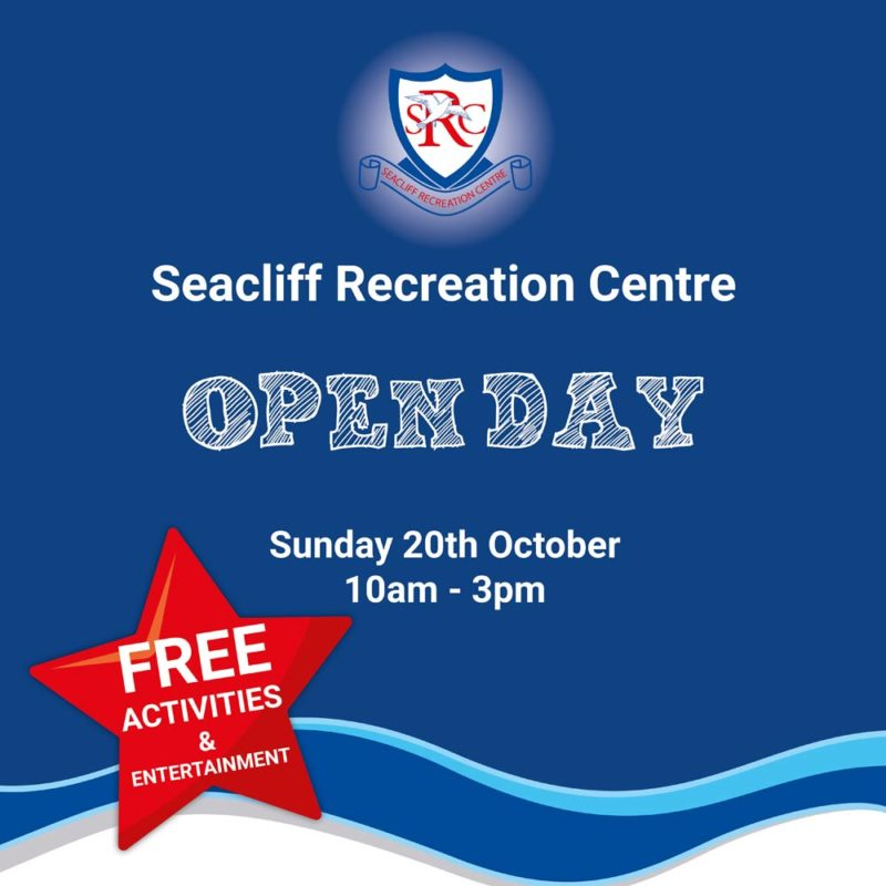 Seacliff Recreation Centre - Open Day