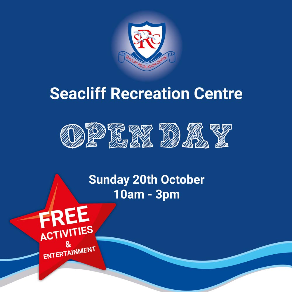 Seacliff Recreation Centre - Open Day