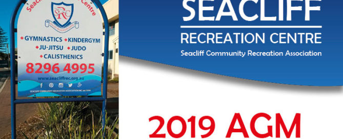 Seacliff Recreation Centre 2019 AGM