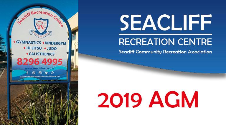 Seacliff Recreation Centre 2019 AGM