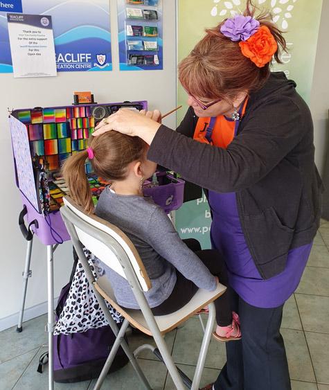 Seacliff Recreation Centre - Open Day - Jo- FizzBubble Face Painting