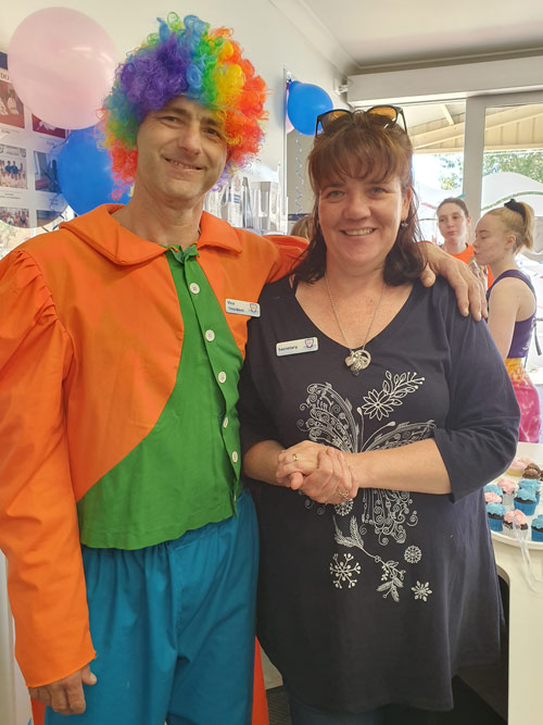 Seacliff Recreation Centre - Open Day - Vice President and Secretary