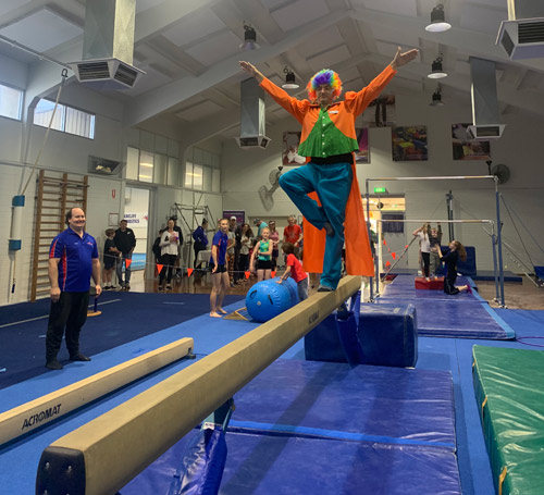 Seacliff Recreation Centre - Open Day - Gymnastics practice