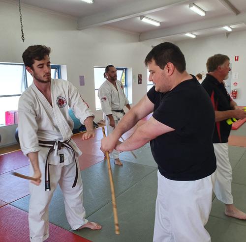 Seacliff Recreation Centre - Open Day - Ju-Jitsu practice