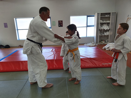 Seacliff Recreation Centre - Open Day - Judo practice