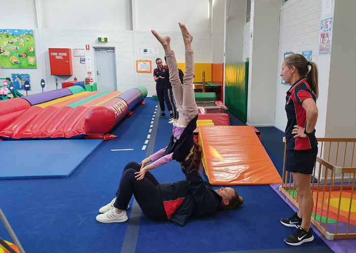 Seacliff Recreation Centre - Open Day - KinderGym practice