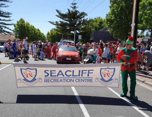Seacliff Recreation at 2019 Glenelg Christmas Pageant!