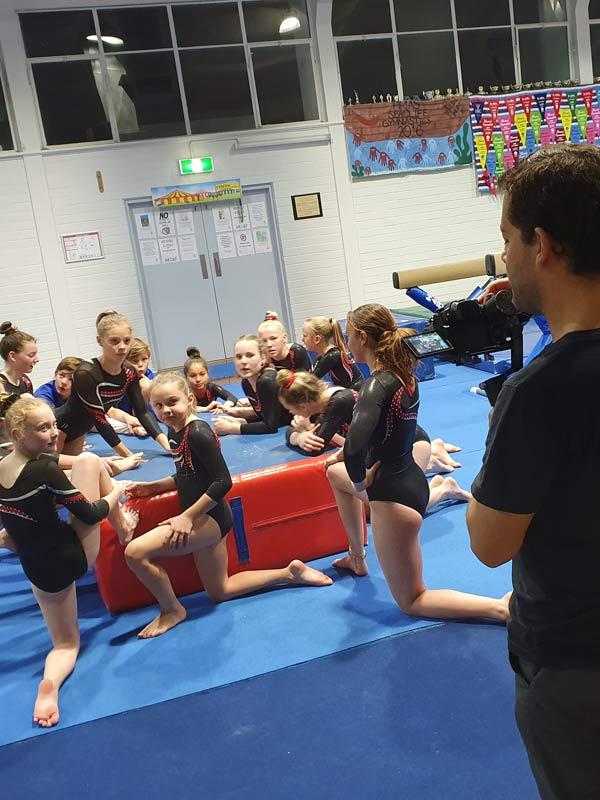 Seacliff Recreation Centre - behind the scenes - gymnastics