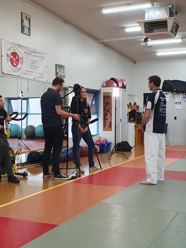 Seacliff Recreation Centre - behind the scenes - judo