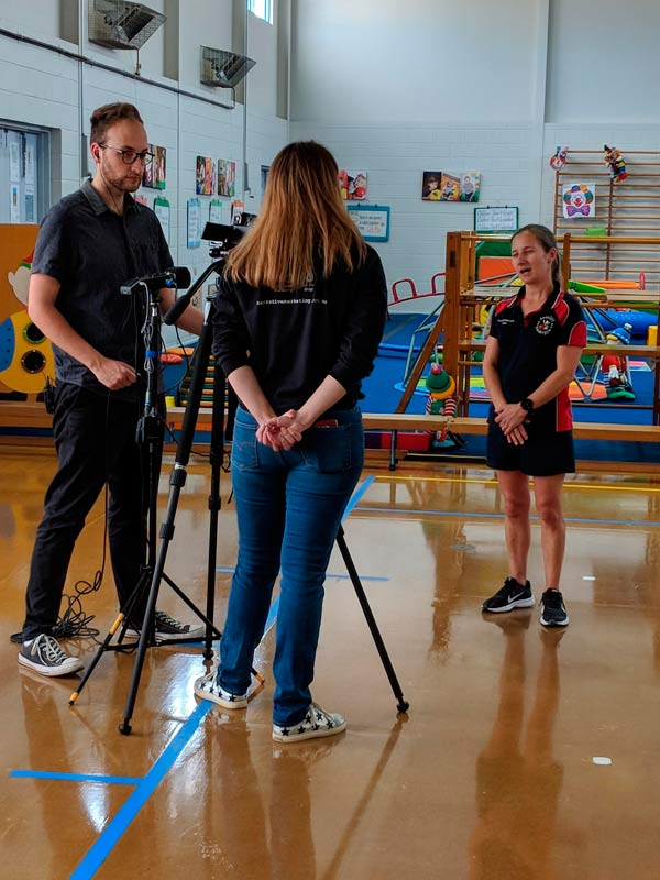 Seacliff Recreation Centre - behind the scenes - kindergym