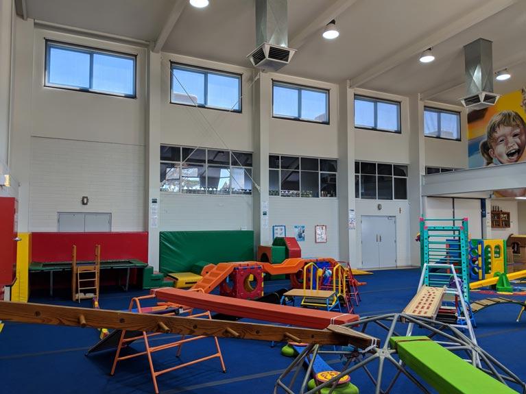 Seacliff Recreation Centre - Silverscreen roller blind install