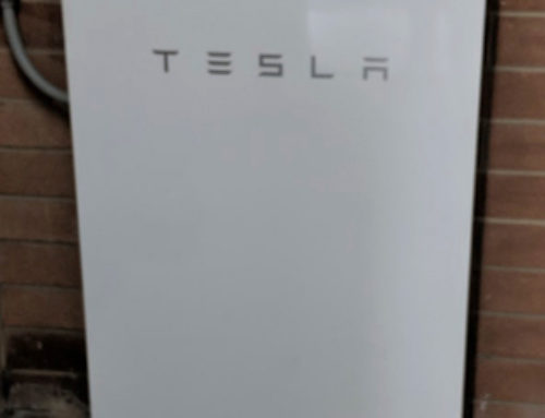 Tesla rechargeable battery has been installed at the centre