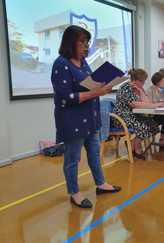 Annette - Calisthenics representative